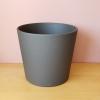 decorative ceramic container for indoor plants houseplants dark gray granite 10 inch plant container sale Mississauga Toronto Brampton Oakville Burlington GTA
