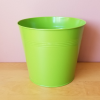 tin round decorative container for indoor plants houseplants plant container sale Mississauga Toronto Brampton Burlington Oakville GTA