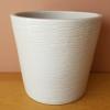 decorative ceramic container for indoor plants white sale Mississauga Toronto Burlington Brampton Oakville GTA