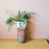 decorative ceramic containers assorted colors 5 inch for indoor plants houseplants office plants plant sale Mississauga Toronto Brampton Burlington Oakville Ajax Hamilton St.Catherine GTA