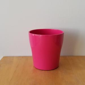 decorative ceramic container for indoor plants houseplants interior plants plant sale Toronto Etobicoke Mississauga Brampton Burlington Oakville Hamilton North York GTA pink deco container